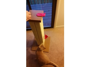 Cat Scratching Post/Table Attachment for Toys