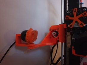 Logitech camera mount for Prusa mk3 X-axis
