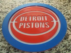 Detroit Piston Logo / Sign