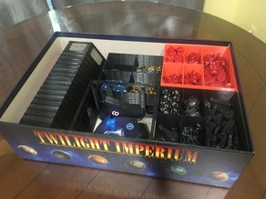 Twilight Imperium 4th Edition (All components and Sleeved cards)