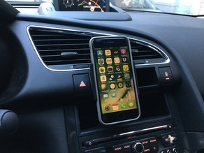 Iphone car support - Support Iphone 6 pour 3008