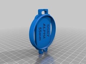 55mm Lens Cap Holder for Sony Alpha