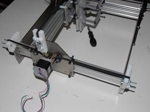 shapeoko X axis belt clamp