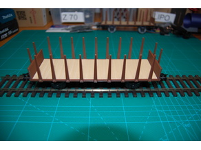 Basic 0-scale Project: Stake Wagon