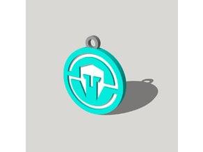 Immortals Esports Logo Charm v2
