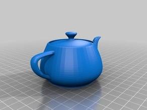 3D printable solid Utah Teapot