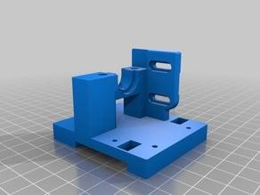 Hypercube Evolution Extruder Mount for PiBot Optical Reflection Endstop