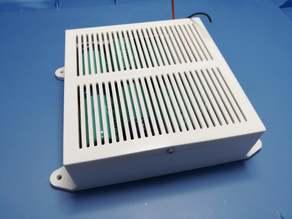 Parametric D Cell Battery Holder