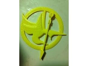 Hunger Games Mockingjay Pin