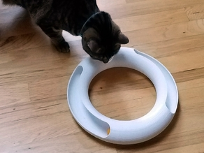 Parametric Cat Track Toy