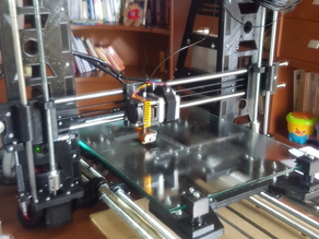 Black Prototype 3D Printer expandible