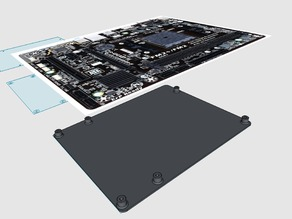mATX Motherboard Mounting Plate