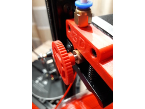 Anycubic Kossel Extruder Hand Wheel Deltastyle