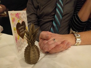 Pineapple Engagement Box