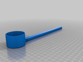 long Protein Measuring Cup