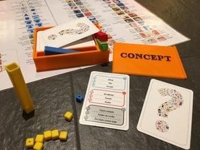 Box game Concept - Boite jeu Concept