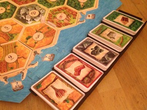 Stackable Catan Card Holder