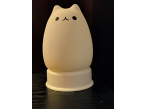 Kitty Silicone LED Night Lamp Stand