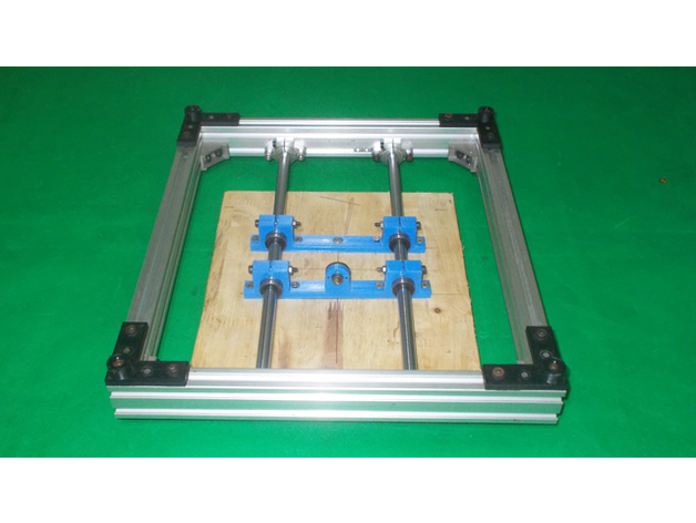 DIY Y Axis Bed Base Frame here