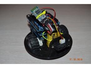 Platform for little robot