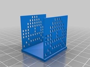 Space invader napkin holder