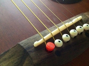 Guitar string peg