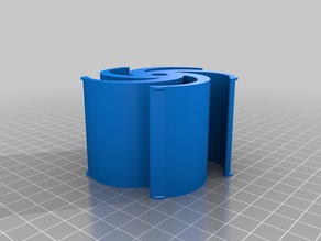 75mm Spool Holder Rigidbot