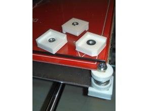 MK2 heatbed adjustable spring mount