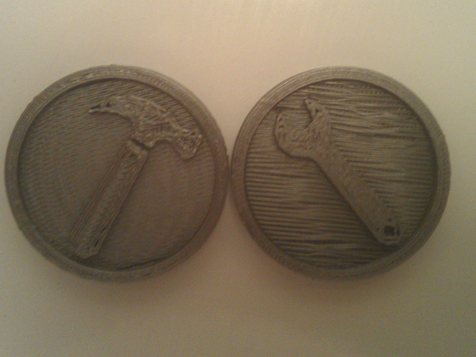 Hammer / wrench coin