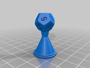 Full RPG dice Chess Set