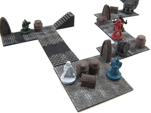 Modular Dungeon Tiles: Core Set