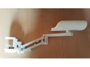 Reposabrazos giratorio (Rotating armrest)