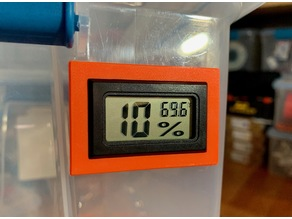 Humidity/Temp Sensor Mount Sterilite 20qt Gasket Box