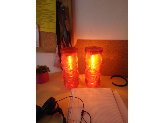 Teethy tiki desk lamp by vincentf thingiverse thingiview aloadofball Image collections