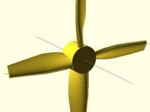 Parameterized Propeller