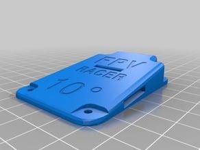 ZMR 250 Mobius/Runcam/Gopro holder 10°+15°+20°