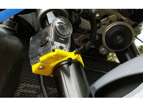 Sony Action Camera Motorcycle Fork Mount