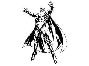 Magneto stencil
