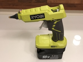 Makita battery  adapter for Ryobi hot glue gun