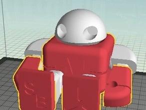 Multi-Filament Maker Faire Robot Action Figure