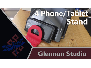 4 Phone Tablet Stand