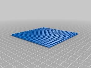 16x16 Lego Base Plate FLAT