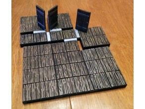 #NoWalls Wood Dungeon Tiles (OpenLock/MagBall)
