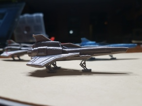 Battlestar Galatica MKII Viper with Landing Gear