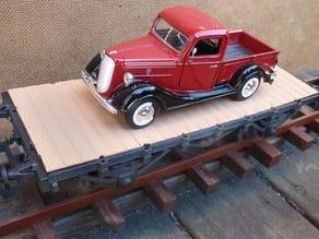 Flatcar  scale 1:32