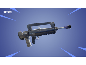 Full SIze Fortnite Famas