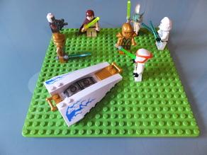 Lego base plate 22x22