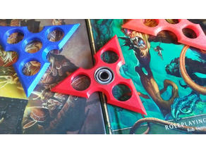 Ninja Disk Fidget Spinner