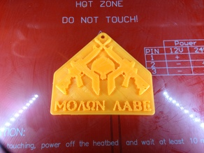 Moaon Aabe Badge (Come and Take Them)