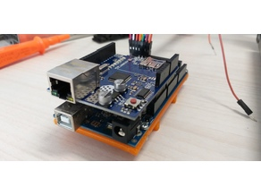 Arduino Mega 2560 Din Rail 3.5 x 7.5 mm mounting